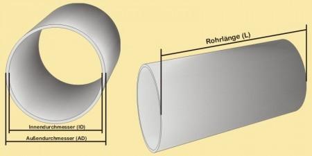 acrylglasrohr ad 150 id 144 mm wandst rke 3 mm. Black Bedroom Furniture Sets. Home Design Ideas